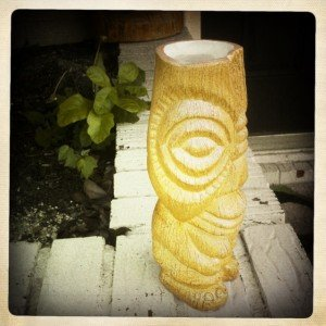 Official 2012 Hukilau mug by Tiki Diablo