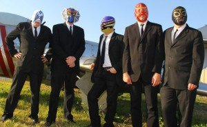 The new five-piece Los Straitjackets