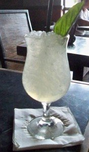 Thai Holiday is a refreshing gin drink made with ginger liqueur and ginger beer.