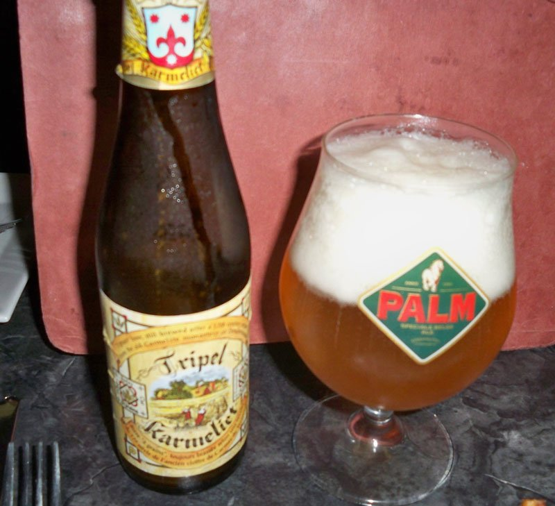 Tripel Karmeliet is a strong Belgian brew with a complex spicy and fruity taste.