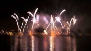 IllumiNations in December 2011. 