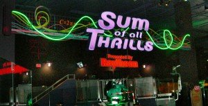 Sum of All Thrills is one of Epcot's newest attractions.