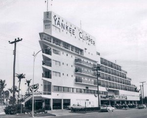 A vintage photo of the Yankee Clipper, reimagined in 2017 as the B Ocean Resort in Fort Lauderdale