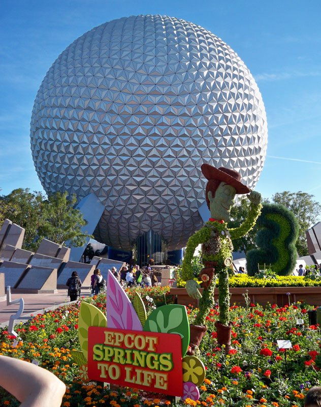 Epcot Spaceship Earth Toy 30 great ways to celeb...