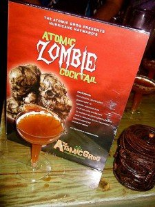 The Atomic Zombie Cocktail is served at the Zombie Jamboree at The Mai-Kai in April 2011