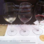 The samples from Robert Mondavi Winery in Napa Valley, Calif.