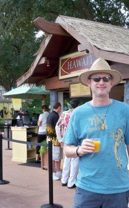 Hurricane Hayward finds a much-improved Mai Tai at the Hawaii marketplace.