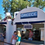 The Greece marketplace is one of the festival's most distinctive.