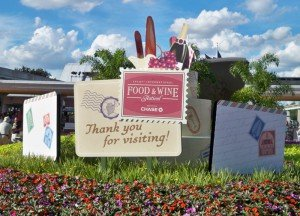 We bid the Epcot International Food and Wine Festival adieu until next year.