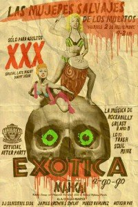Exotica A-Go-Go's Day of the Dead After Party