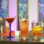 Xanté Pear Sidecar, Blood Orange & Sand, Singapore Sling, and Xanté Old Fashioned