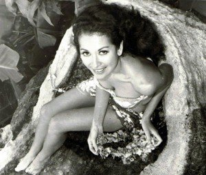 Mireille Thornton in the early 1960s