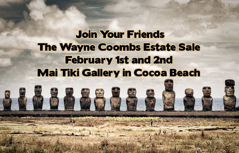 Mai Tiki estate sale
