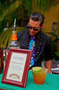 Appleton was one of many brands serving tasty cocktails at the 2012 Miami Rum Renaissance Festival