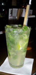 A Classic Mojito, one of 18 varieties at Dada