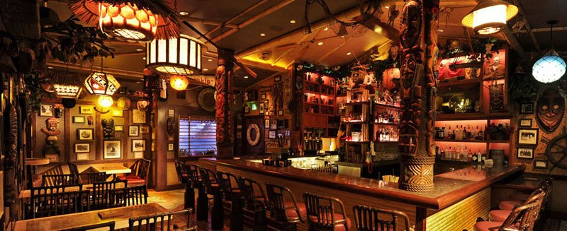 Trader Sam's Enchanted Tiki Bar at the Disneyland Hotel
