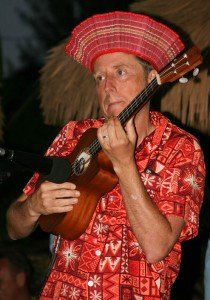 King Kukulele performs at The Hukilau in 2012