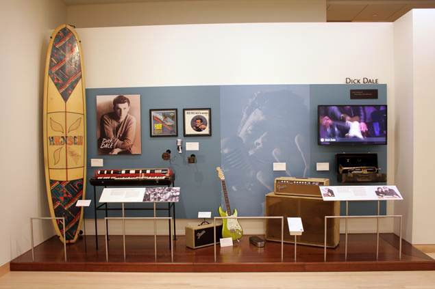 The Dick Dale exhibit at the Musical Instrument Museum in Phoenix