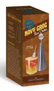 Beachbum Berry's Navy Grog Ice Cone Mold