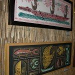 "The ""Bon Voyage: Sailing the South Seas"" art show greets you as you enter the Tiki Treasures Bazaar at the Yankee Clipper."