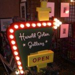 The Harold Golen Gallery is a fixture every year in the bazaar.