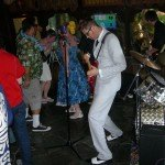 Skinny Jimmy & the Stingrays kick off Sunday's final festivities at The Mai-Kai.