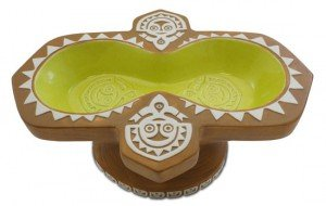 Polynesian Village Luau Party Bowl by Kevin Kidney and Jody Daily.