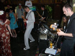 Skinny Jimmy & the Stingrays perform in The Mai-Kai's Molokai bar during The Hukilau in June 2013
