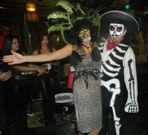 Another Day of the Dead couple finished second in the contest, earning a Mai-Kai gift certificate