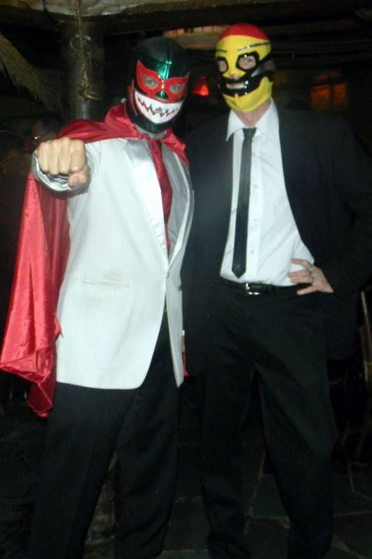 Kern Mattei El Grande (manager of The Mai-Kai) meets his nemesis, Los Hurricane Hayward