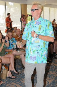 Shag participated in the Sarong-O-Rama Fashion Show at The Hukilau 2010