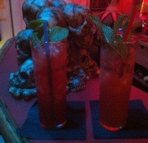 Zombies from Drink in Boston and The Mai-Kai in Fort Lauderdale