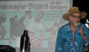 """Jeff """"Beachbum"""" Berry takes attendees at The Hukilau in June 2013 on a tour of the """"Wild West Indies."""""""