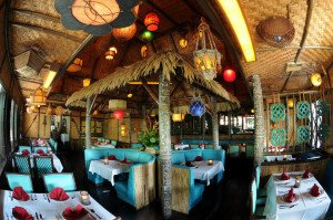 The Mai-Kai's Tahiti dining room