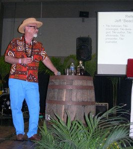 """Jeff """"Beachbum"""" Berry was one of many expert guest speakers at the 2013 Miami Rum Renaissance Festival"""