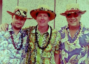 The Smokin' Menehunes feature vocalist Pat Enos, a native of  Oahu and master of Hawaiian ukulele