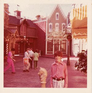 A young Hurricane Hayward enjoys his first visit to the Magic Kingdom in December 1972