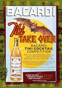 World Tiki Cocktail Championships, U.K. competition