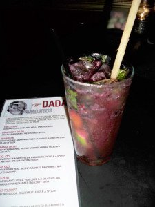 One of Dada's famous mojitos
