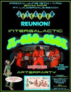 Jetsetter Reunion: Intergalactic A-Glo-Glo