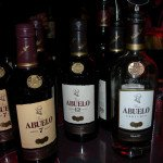 Ron Abuelo's two award-winning rums: Abuelo 7 (Gold: Aged Rum, 4-8 years) and Abuelo 12 (Best in Class: Aged Rum, 9-12 years)