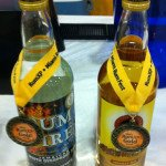 Jamaica's Hampden Estate took a gold medal for its gold rum, while its new Rum Fire brand won the gold for overproof rum