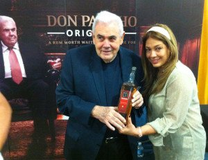 "Legendary master blender Francisco ""Don Pancho"" Fernandez could be seen all weekend promoting his new namesake rums"