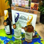 Koloa Hawaiian Rum made a splash with three awards at the 2014 Miami Rum Festival: Koloa Dark, Koloa Coconut, and Koloa Gold. (Photo by Hurricane Hayward)