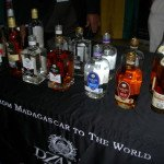 Dzama Rhum had nine different varieties on display at the Miami Rum Festival
