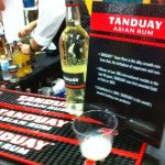 Tanduay Asian Rum made its debut at the festival and took home an award for its silver rum