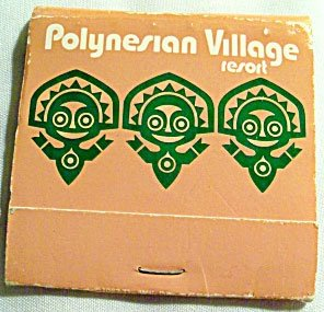 A vintage matchbook from the early days of the resort