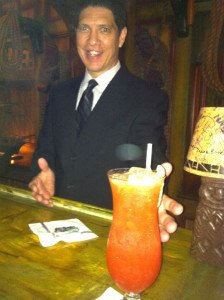 The Mai-Kai Hurricane is served by manager Kern Mattei in April 2014