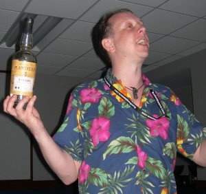 U.K. rum expert Paul McFadyen talks about the highly regarded Plantation Rum during his seminar in April 2013 at the Miami Rum Festival