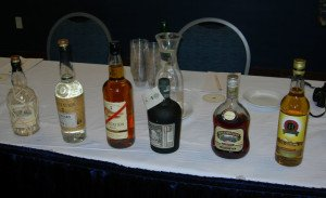 Rums selected by Paul McFadyen for his seminar on Navy Rum at the Miami Rum Festival in April 2013